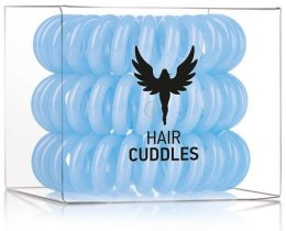 Парфюми, Парфюмерия, козметика Силиконови ластици за коса, сини, 3бр - HH Simonsen Hair Cuddles Light Blue
