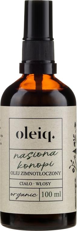 Конопено масло за коса и тяло - Oleiq Hemp Seed Hair And Body Oil — снимка N1
