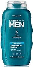 """Парфюми, Парфюмерия, козметика Шампоан против пърхот """"Nord Original"""" - Oriflame North For Men Anti-Dandruff Shampoo"""