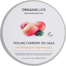 Парфюми, Парфюмерия, козметика Подхранващ захарен пилинг за тяло - Organic Life Dermocosmetics Scrub