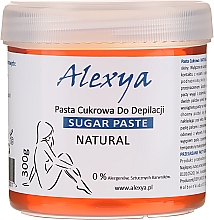 Парфюмерия и Козметика Кола маска - Alexya Sugar Paste For Depilation Natural