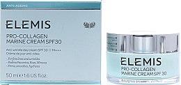 Парфюмерия и Козметика Крем за лице - Elemis Pro-Collagen Marine Cream SPF30