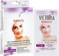 Парфюмерия и Козметика Почистващи пачове за нос - Victoria Beauty Intense Cleansing Gel Patch