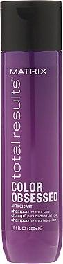 Шампоан за запазване на цвета на боядисаната коса - Matrix Total Results Color Obsessed Shampoo