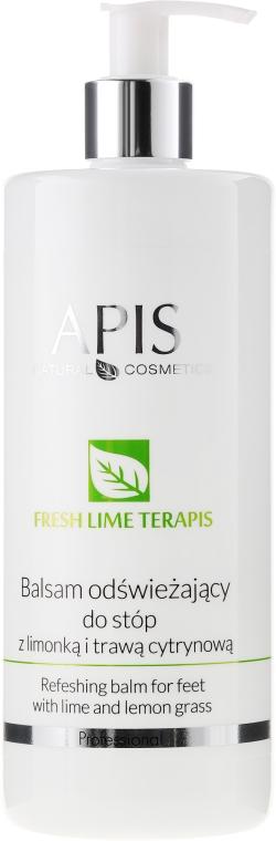 Освежаващ балсам за крака - APIS Professional Refreshing Balm For Feet With Lime And Lemon Grass