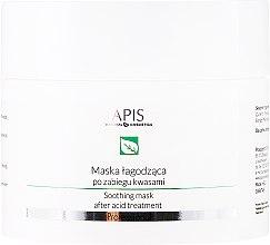 Парфюмерия и Козметика Успокояваща маска за лице за след процедури с киселина - APIS Professional Exfoliation Soothing Mask After Acid Treatment