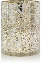 Парфюмерия и Козметика Свещник за големи свещи - Yankee Candle Kensington Mercury Crackle Port Jars Lampshade