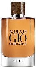 Парфюми, Парфюмерия, козметика Giorgio Armani Acqua di Gio Absolu - Парфюмна вода (тестер с капачка)