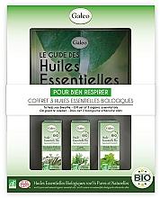 """Парфюмерия и Козметика Комплект етерични масла """"За облекчено дишане"""" - Galeo To Help You Breath Gift Set (ess/oil/3x10ml)"""