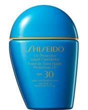 Парфюми, Парфюмерия, козметика Слънцезащитен фон дьо тен - Shiseido UV Protective Liquid Foundation SPF30