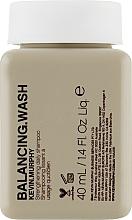 Парфюмерия и Козметика Укрепващ ежедневен шампоан за боядисана коса - Kevin.Murphy Balancing.Wash (мини)
