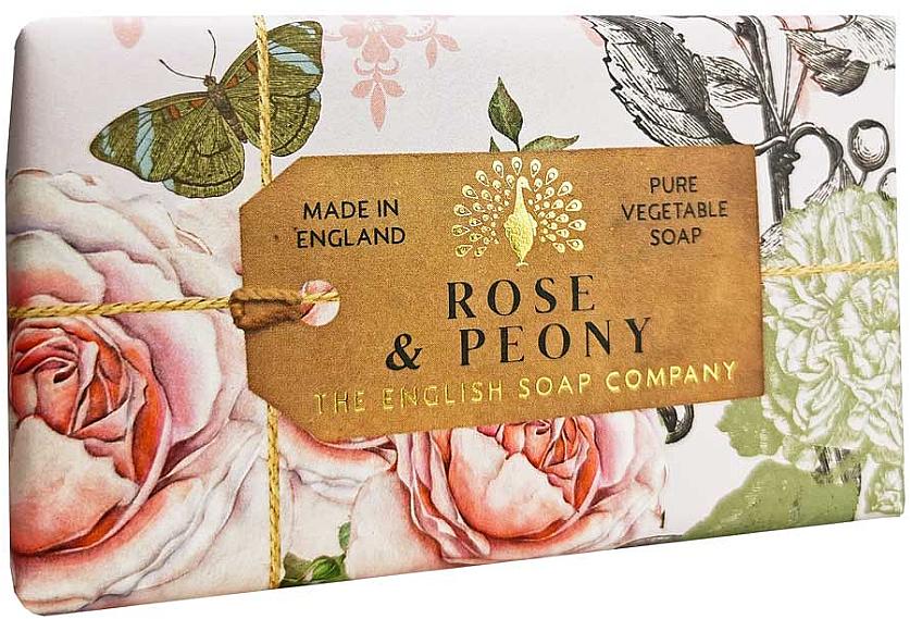 Сапун с роза и божур - The English Anniversary Rose and Peony Soap