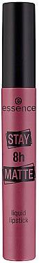 Течно червило за устни - Essence Stay 8H Matte Liquid Lipstick
