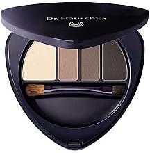 Парфюмерия и Козметика Палитра грим за очи и вежди - Dr Hauschka Eye & Brow Palette
