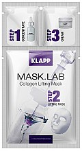 Парфюмерия и Козметика Колагенова лифтинг маска за лице - Klapp Mask Lab Collagen Lifting Mask