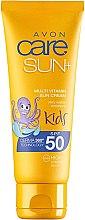 Парфюми, Парфюмерия, козметика Слънцезащитен крем за деца SPF50 - Avon Sun+ Kids Multivitamin Sun Cream SPF50