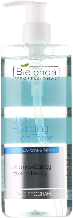 Ултра-овлажняващ тоник за лице - Bielenda Professional Face Program Ultra Hydrating Face Toner
