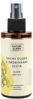 Сухо масло със златни частици - Nature Queen