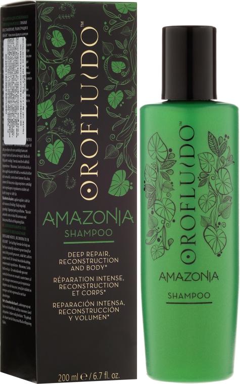 Шампоан за изтощена и увредена коса - Orofluido Amazonia Shampoo