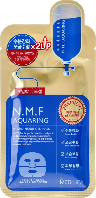 Mediheal N.M.F Aquaring Hydro Nude Gel Mask   OpentheBeauty
