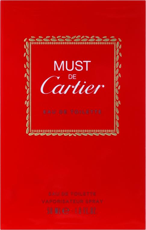 Cartier Must de Cartier - Тоалетна вода — снимка N1