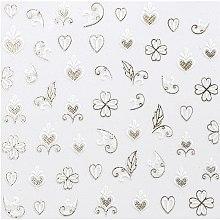 Парфюми, Парфюмерия, козметика Декориращи лепенки за нокти - Peggy Sage Decorative Nail Stickers Spring Chic (1бр)
