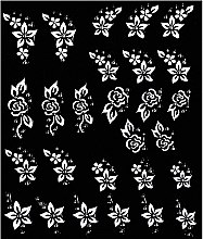 Парфюми, Парфюмерия, козметика Декориращи лепенки за нокти - Peggy Sage Decorative Nail Stickers Pink Line White Line (1бр)