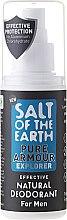 Парфюмерия и Козметика Натурален спрей-дезодорант за мъже - Salt of the Earth Pure Armour Explorer Natural Deodorant For Men