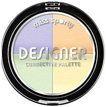 Парфюмерия и Козметика Коректори за лице - Miss Sporty Designer Corrective Palette
