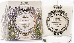 Парфюмерия и Козметика Ароматизираща свещ - Panier Des Sens Decorative Scented Candle In Lavender Glass