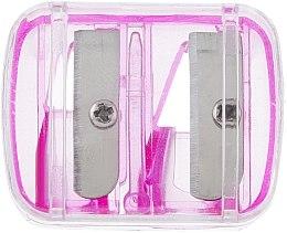 Парфюмерия и Козметика Двойна острилка за моливи, розова - Top Choice
