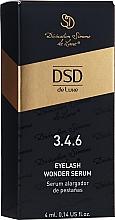 Парфюмерия и Козметика Серум за растеж на миглите №3.4.6 - Divination Simone De Luxe DSD Eyelash Wonder Serum