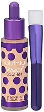 Парфюмерия и Козметика Фон дьо тен с четка - Physicians Formula Youthful Wear Spotless Foundation SPF 15