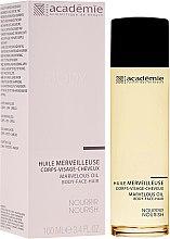 Парфюми, Парфюмерия, козметика Копринено масло за лице, тяло и коса - Academie Marvelous Oil