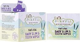 Парфюми, Парфюмерия, козметика Детски кърпички за почистване на венци и зъби - Jack N' Jill
