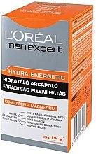Парфюмерия и Козметика Овлажняващ крем против изморен вид на кожата - L'Oreal Paris Men's Expert Hydra-Energetic