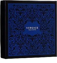 Парфюми, Парфюмерия, козметика Versace Pour Homme - Комплект (тоал. вода/100ml + душ гел/150ml)