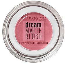 Парфюми, Парфюмерия, козметика Кремообразен руж за лице - Maybelline Dream Matte Blush
