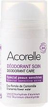 Парфюмерия и Козметика Минерален освежаващ дезодорант с аромат на бадем и лайка - Acorelle Deodorant Care