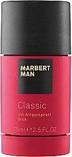 Парфюмерия и Козметика Marbert Man Classic - Стик дезодорант