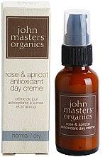 """Парфюми, Парфюмерия, козметика Антиоксидантен дневен крем за лице """"Роза и Кайсия"""" - John Masters Organics Rose & Apricot Antioxidant Day Cream"""
