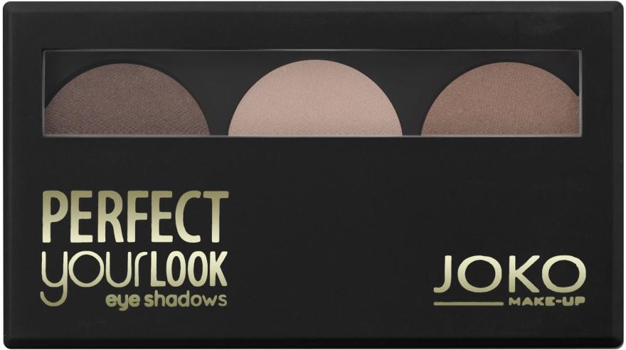 Тройни сенки за очи - Joko Perfect Your Look Trio Eye Shadows