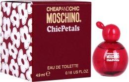 Парфюмерия и Козметика Moschino Cheap And Chic Chic Petals - Тоалетна вода ( мини )