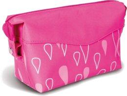 """Парфюми, Парфюмерия, козметика Козметична чанта с принт в ярко розово """"Капчици"""" - Donegal Cosmetic Bag"""