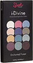 Парфюми, Парфюмерия, козметика Палитра секи за очи - Sleek MakeUP i-Divine Mineral Based Eyeshadow Palette Enchanted Forest
