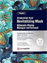 Парфюми, Парфюмерия, козметика Ревитализираща маска за лице с амазонско акай - Leaders 7 Wonders Amazonian Acai Revitalizing Mask