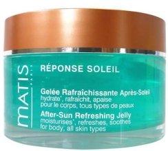 Парфюми, Парфюмерия, козметика Освежащ гел за след слънчеви бани - Matis Reponse Soleil After Sun Refreshing Jelly