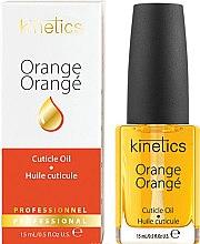 """Парфюми, Парфюмерия, козметика Масло за нокти и кожички """"Orange"""" - Kinetics Orange Cuticle Oil"""