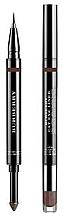 Парфюми, Парфюмерия, козметика Очна линия+сенки за очи 2в1 - Burberry Cat Eye Liner