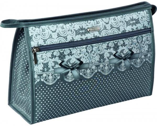 Козметична чантичка, 96105, зелена - Top Choice